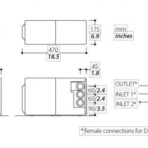 Tecma spare parts Sanisplit 230V T-PF.SPLIT/NK230V